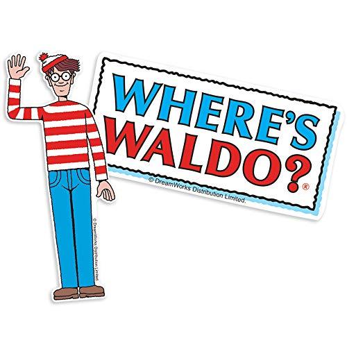 Popfunk Where's Waldo Logo Collectible Stickers