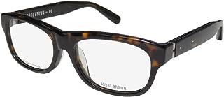 Bobbi Brown The Bobbi Womens/Ladies Rectangular Full-rim Brand Name Glamorous In Style Eyeglasses/Eyeglass Frame