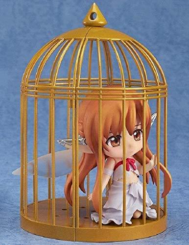MNZBZ Sword Art Online Birdcage Yuuki Asuna PVC Action Figure 3.93 Inch Anime Model Sculpture Anime Gifts Toy Model Kits