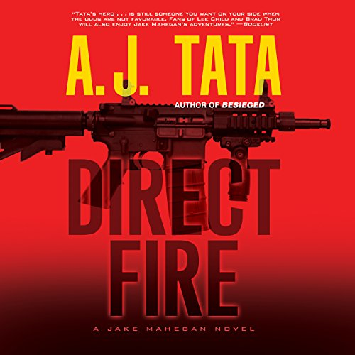 Direct Fire audiobook cover art