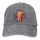 RFTGB Gorras Unisex Accesorios Sombreros Gorras de béisbol Sombreros de Vaquero IMPEACHED Denim Baseball Cap, Unisex Vintage Dad Hat, Golf Hats, Adjustable Plain Cap