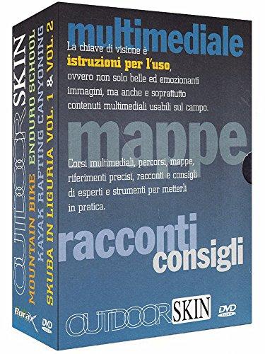 Outdoor skin - Mountain bike + Enduro school + Kayak rafting canyoning + Skuba in Liguria Vol. 1 & 2 [5 DVDs] [IT Import]