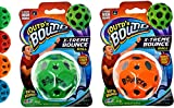 JA-RU Space Balls Extreme High Bouncing Ball (2 Packs Assorted) Space Ball Toy Game Planet Sphere and Very Bouncy Ball Sound Slammer. Party Favor. Rubber Bounce Ball for Kids and Adults 5131-2p