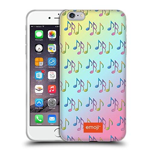 Head Case Designs Licenciado Oficialmente Emoji Notas Coloridas Patrones Musicales Carcasa de Gel de Silicona Compatible con Apple iPhone 6 Plus/iPhone 6s Plus