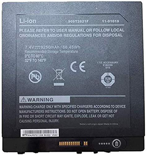 7.4V 68.45Wh 9250mAh 909T2021F Replacement Laptop Battery for Battery Xplore iX104 Tablet PC BTP-80W3 BTP-87W3 11-01019 Series
