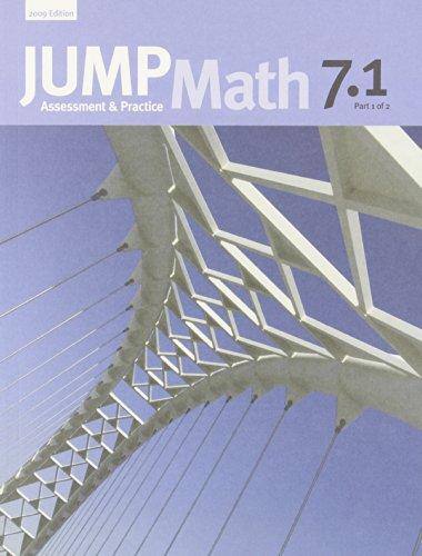 JUMP Math 7.1: Book 7, Part 1 of 2
