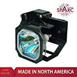 SpArc Lighting for Mitsubishi 915P028010 TV Lamp with Enclosure fits WD-52526 WD-52527 WD-52528 WD-62526 WD-62527 WD-62528