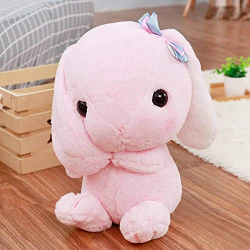 N-B Lindasmuñecas de Conejo, clásico, Suave, de Felpa, Conejo, Juguete,Loppy, Conejo,Almohada de Felpa para niños, Amigos, niñas