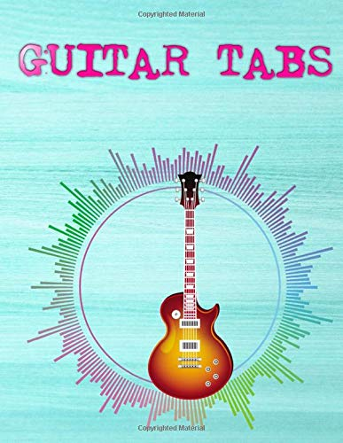 Guitar Music Book: Shape Of You Guitar Tabs Size 8.5 X 11 Inch Glossy Cover Design White Paper Sheet ~ Large - Bass # Tablature112 Page Very Fast Print.