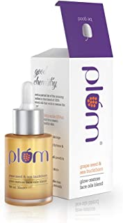 Plum Grape Seed & Sea Buckthorn Glow-Restore Face Oils Blend, 30ml