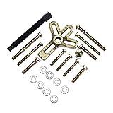 ELECTRONIC-MEI Dirección 13pcs balanceador armónico de la Rueda Extractor de eliminación de Herramientas Automotrices Heavy Duty cigüeñal Engranaje Pullery Kit de reparación
