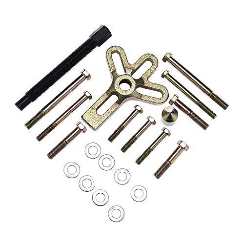KKmoon 13-delig Harmonic Balancer Stuurwiel Trekker Kit Heavy Duty Stuurwiel Trekker Set