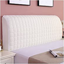 Headboard Cover Queen Size Bed Headboard Slipcover Protector for Full Size Bed Washable Anti-Dirty Headboard Protector (Co...