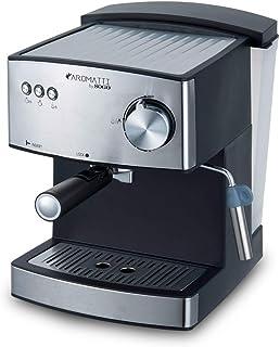 comprar comparacion SOGO CAFETERA Combi SS-5665 Aromatti, 850W, 15/20 Bar, para Café Molido y Cápsulas E.S.E. Mono dosis, Vaporizador, Superfi...
