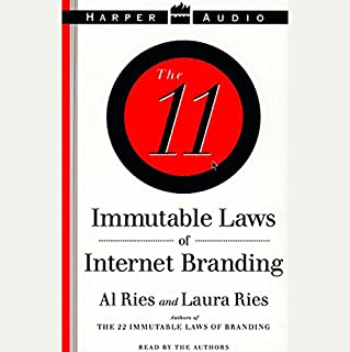 The 11 Immutable Laws of Internet Branding audiobook cover art