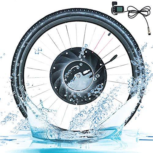 HBRT Frente Conversión Rueda Kit 36V Bicicleta eléctrica de la Rueda E-Bici con la batería de Motor de Cubo de Camino de la Bicicleta MTB, 20