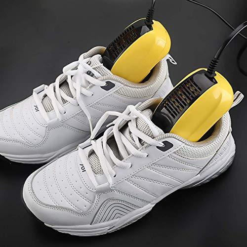 Mini secador de Zapatos eléctrico multifunción, secador de Botas portátil, con soplador...