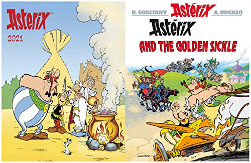 Asterix Full Series : Issue 2-ASTERIX AND THE GOLDEN SICKLE (English Edition)