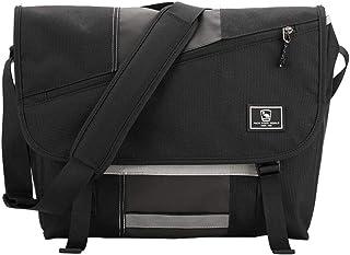 Messenger Bag for Women - Canvas 15.6 Inch Laptop Satchel Computer Briefcase Mens Crossbody Bag School Backpack