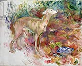 Kunst für Alle Impresión artística/Póster: Berthe Morisot Laerte The Greyhound 1894' - Impresión, Foto, póster artístico, 100x80 cm