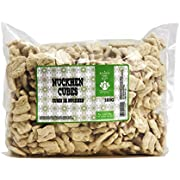 Nuckhen Cubes - 500g by Dinavedic | Plant Based Vegan Meat Substitute | Peanut, Soybean, and Wheat Protein | All Natural, Non-GMO, No Additives