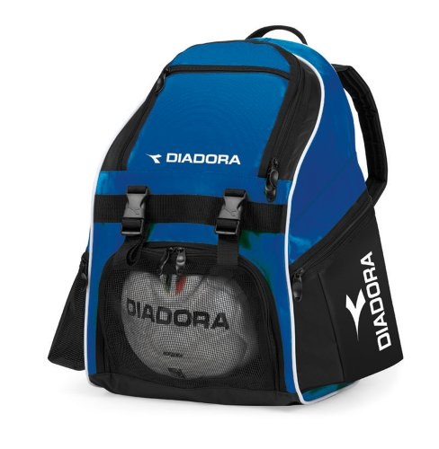 Diadora Junior Squadra Backpack (Royal/Black)