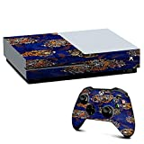 IT'S A SKIN Xbox One S Console & Controller Decal Vinyl Wrap | tattoo tigers heads roses pattern Japanese