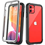 Temdan Compatible with iPhone 11 Case, Full Body with