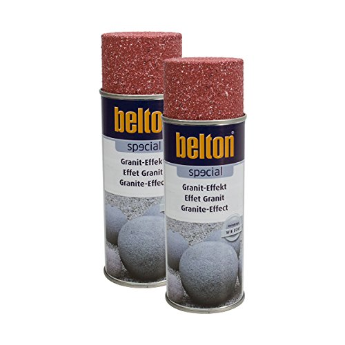 Kwasny 2X 323 358 Belton Special Granit-Effekt Granit-rot 400ml