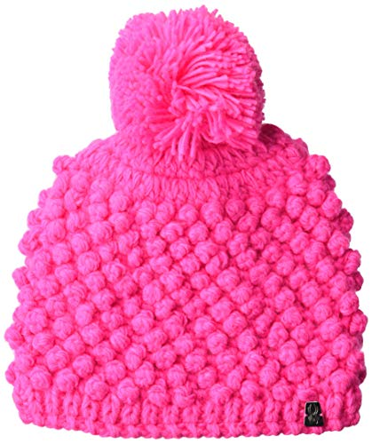 Spyder Brrr Berry - Berretto Unisex per Bambini, Unisex - Bambini, Berretto, 197166, Bryte Bubblegum, Taglia Unica