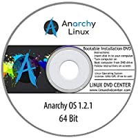 Anarchy Linux OS 1.2.1 Live (64Bit) - Bootable Linux Installation DVD
