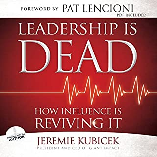 Leadership Is Dead audiobook cover art