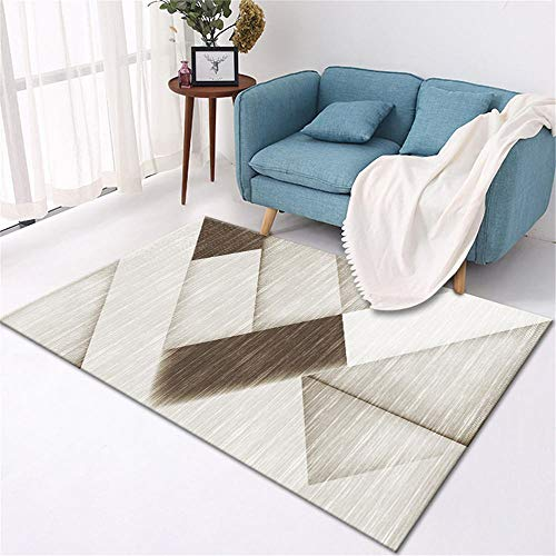 centro de mesa decorativo comedor alfombra juegos infantil Sala de estar alfombra gris decoración del dormitorio a prueba de humedad y antideslizante alfombra meditacion 50X80CM 1ft 7.7'X2ft 7.5'