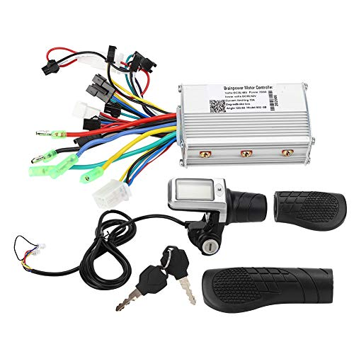 Electric Bicycle Controller, Electric Scooter Controller Meter Set LCD Split Meter Throttle Grip Set