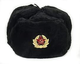 genuine russian army fur hat