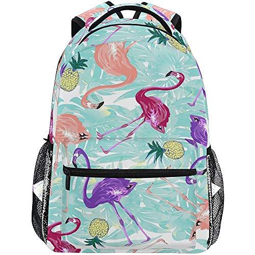 Daypack Flamingo Tropical Blue Pineapple Sac À...