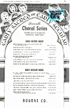 O COME, YE SERVANTS OF THE LORD - T.T.B.B. WITH PIANO/ORGAN