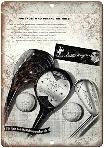 HALEY GAINES Walter Hagen Strata Bloc Golf metalen metalen borden Decoratie Retro Style Schild Vintage Aluminium Poster Originele muurkunst voor bar Cafe keuken garages 20×30cm