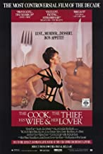 The Cook Thief, His Wife and Her Lover Poster Movie 11x17 Richard Bohringer Michael Gambon