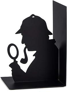 Balvi-SherlocksujetalibrosDecorativodeMetalenColorNegro.DiseñoOriginal