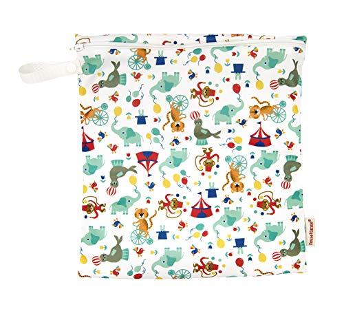 ImseVimse Wetbag Sac à langer lavable et imperméable 28 x 26 cm (circus)