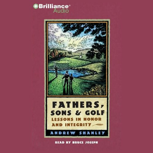 Fathers, Sons and Golf audiobook cover art