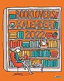 Booklovers Kalender 2022: I will judge you by your bookshelf - illustrierter Wandkalender für Buchliebhaber
