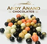 Andy Anand Chocolate Cordial Bridge 6 Flavors Bourbon, Cherry, Prosecco, Cappuccino, Creme Brulee, Delicious, Divine Delectable Gift Box Greeting Card Birthday Christmas Fathers day (2lbs)