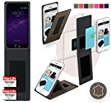 Hülle für Meizu m2 note Tasche Cover Case Bumper | Braun