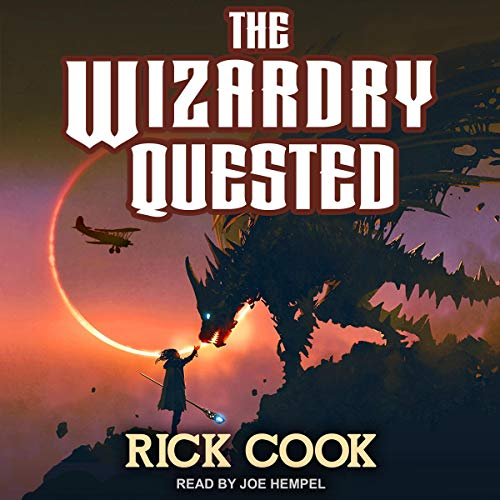 The Wizardry Quested Audiobook By Rick Cook cover art