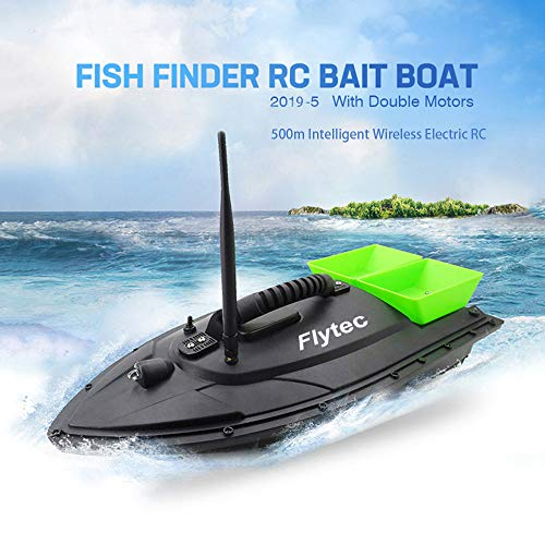 Fishing Bait Boat RC Boat, Druable Ungrade! XEDUO Fish Finder 1.5kg Feed Delivery Loading 500m Remote Control (Green)