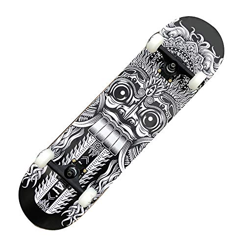 RONGXIN Anfänger Skateboard - Double Skateboard - Vierrad Street Stunt Professional Skateboard Erwachsenen Kind Roller