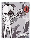 Cuaderno Tapa Polipropileno A4 5X5 Microperforado Fortnite
