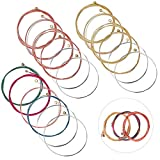 Guitar Strings, Steel String for Acoustic Guitar 3 Sets of 6(1 Brass, 1 Copper and 1 Multicolor)